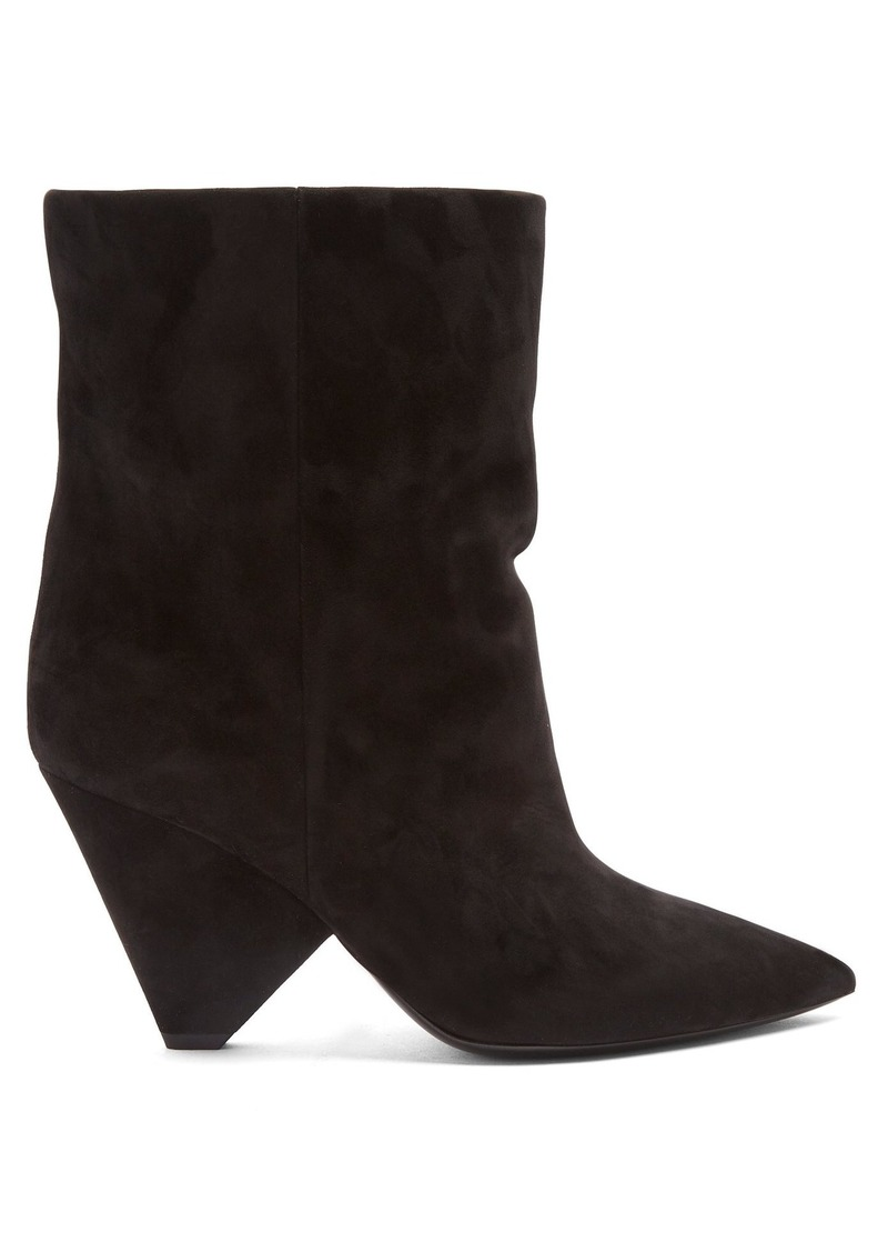 a3eeae05ff46 Saint Laurent Saint Laurent Niki suede ankle boots