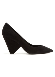 Yves Saint Laurent Saint Laurent Niki suede pumps