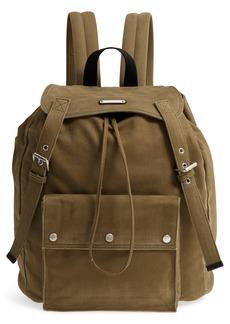 Yves Saint Laurent Saint Laurent Noe Flap Backpack