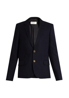 Saint Laurent Notch-lapel wool jacket