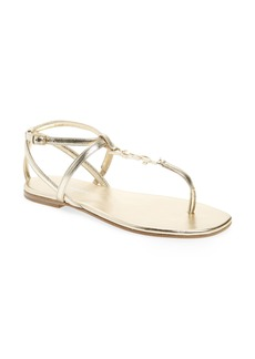 Saint Laurent Nu Pied T-Strap Sandal (Women)