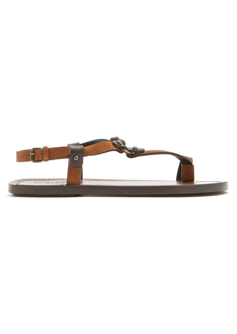 5b54e9a1d27 Yves Saint Laurent Saint Laurent Nu Pieds leather sandals | Shoes
