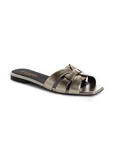 Yves Saint Laurent Saint Laurent Nu Pieds Strappy Slide Sandal (Women)
