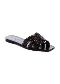 Yves Saint Laurent Saint Laurent Nu Pieds Studded Slide Sandal (Women)