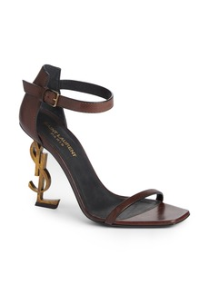 Yves Saint Laurent Saint Laurent Opyum YSL Ankle Strap Sandal (Women)