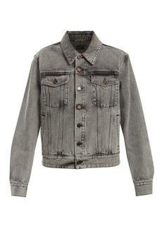 Yves Saint Laurent Saint Laurent Oversized denim jacket