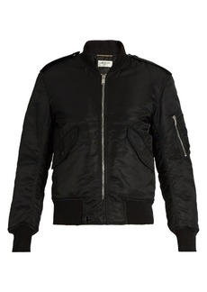 Saint Laurent Padded bomber jacket