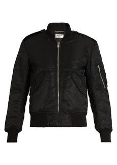 Saint Laurent Padded bomber jacket