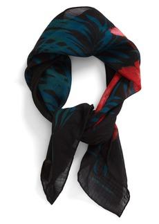 Yves Saint Laurent Saint Laurent Palm Wool Scarf