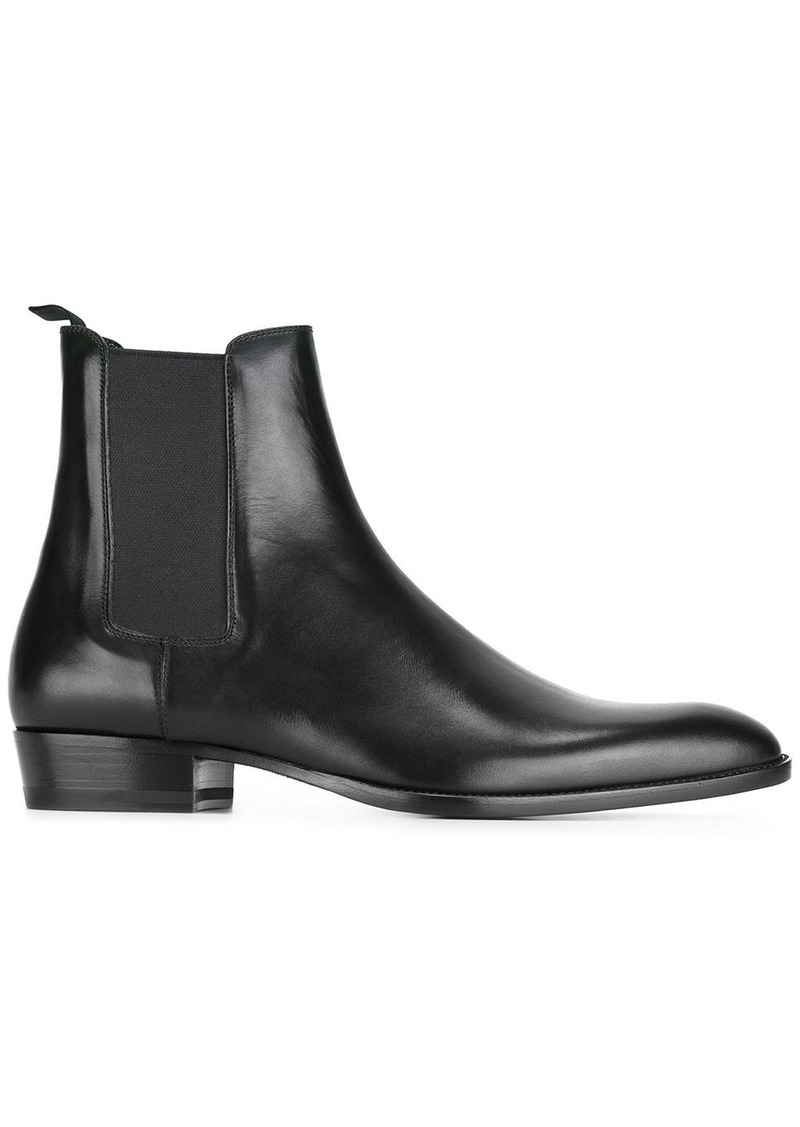 Yves Saint Laurent Wyatt ankle boots