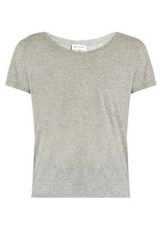 Saint Laurent Patch-pocket cotton T-shirt
