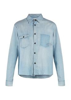 Saint Laurent Patch-pocket denim shirt