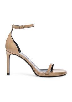 Yves Saint Laurent Saint Laurent Patent Leather Jane Sandals
