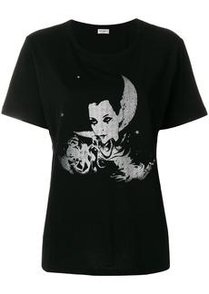 Yves Saint Laurent Saint Laurent Pierrot boyfriend T-shirt - Black