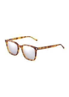 Yves Saint Laurent Saint Laurent Plastic Square Havana Optical Glasses