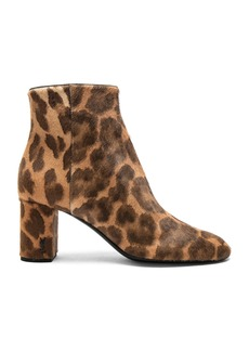 Saint Laurent Pony Hair Loulou Pin Boots