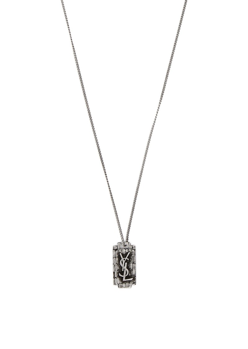 f54a9d220b4 Yves Saint Laurent Saint Laurent Razor-blade necklace | Misc Accessories