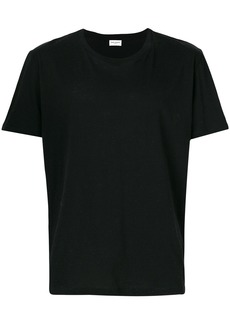 Yves Saint Laurent rear-print fitted T-shirt