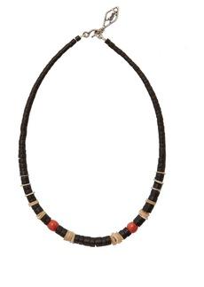 Yves Saint Laurent Saint Laurent Retro beach beaded necklace