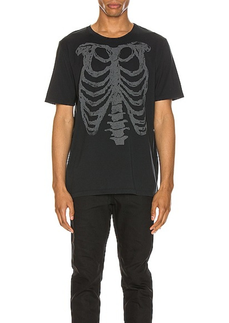 Yves Saint Laurent Saint Laurent Ribcage Print Tee