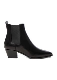 Saint Laurent Rock Leather Chelsea Boots