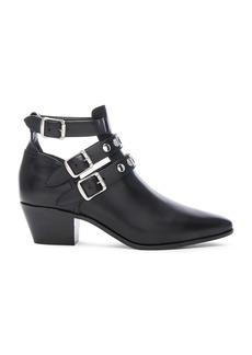 Saint Laurent Rock Rivet Stud Leather Boots