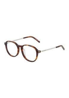 Yves Saint Laurent Saint Laurent Round Acetate Optical Glasses