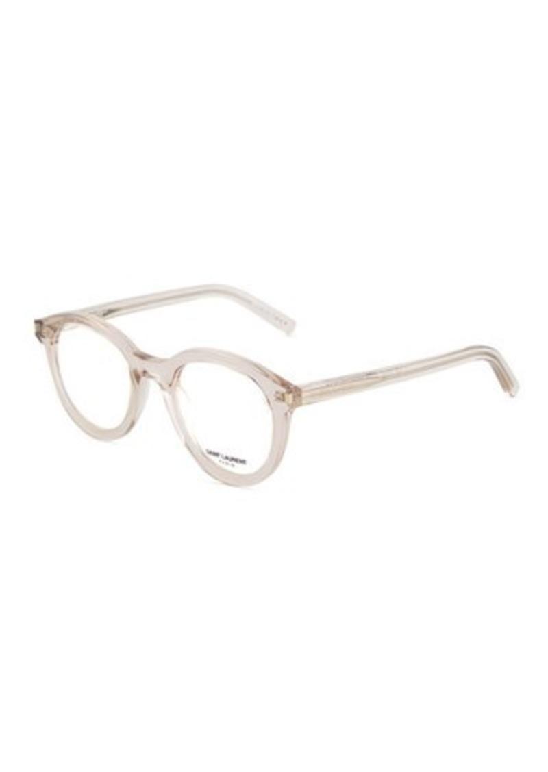 ea8b7ba5f1 Saint Laurent Saint Laurent Round Acetate Optical Glasses