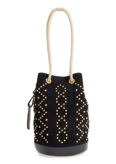 Yves Saint Laurent Saint Laurent Seau Suede Bucket Bag