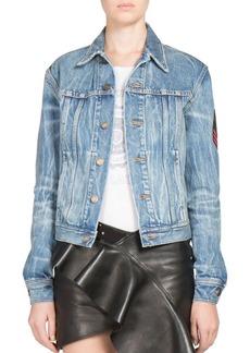 Yves Saint Laurent Saint Laurent Shadow Denim Jacket