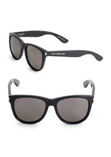 Yves Saint Laurent Shiny, 17MM, Tinted Square Sunglasses