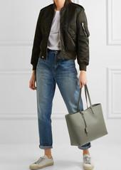dfe04e949c6 Saint Laurent Saint Laurent Shopping large textured-leather tote ...