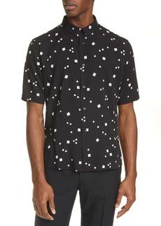 Yves Saint Laurent Saint Laurent Short Sleeve Button-Up Shirt