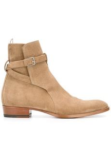Yves Saint Laurent Signature Wyatt 30 Jodhpur boots