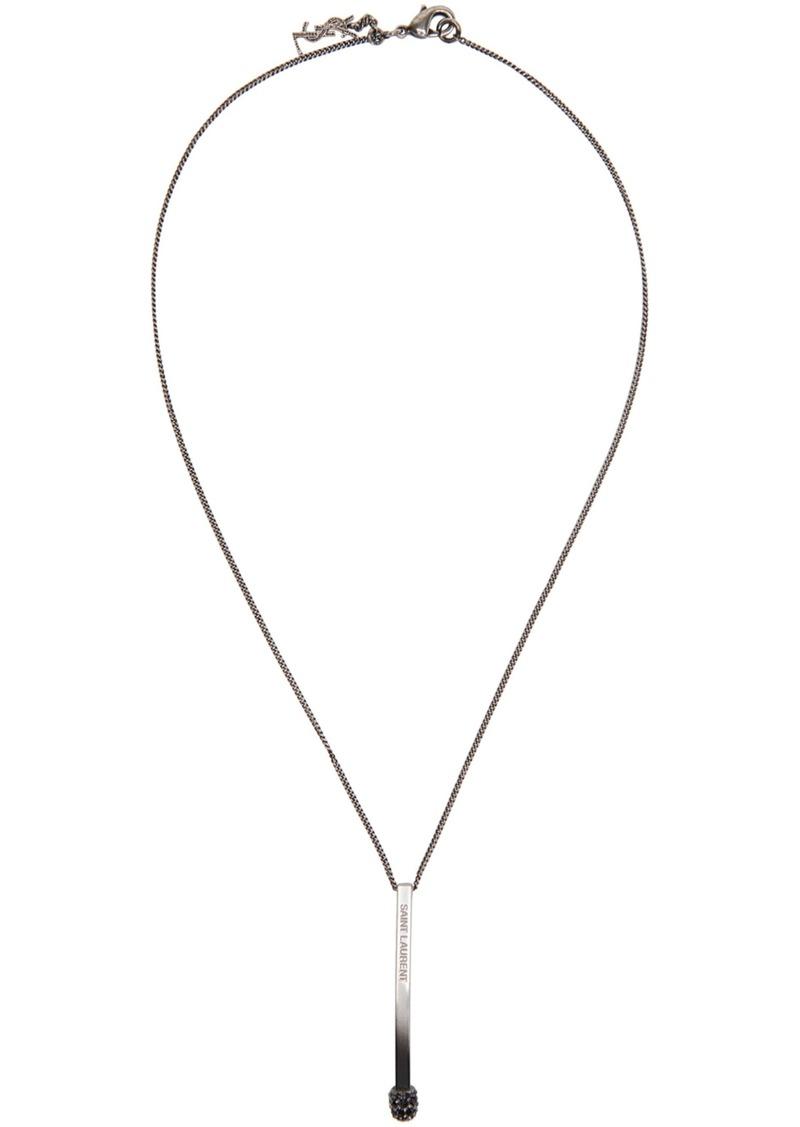 c7c27f014fb Yves Saint Laurent Saint Laurent Silver Matchstick Necklace | Misc ...