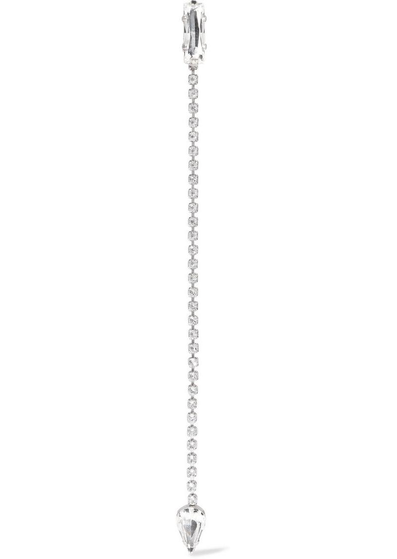 6d4995ec72 Silver-tone crystal clip earring