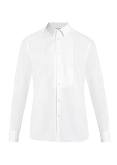 Yves Saint Laurent Saint Laurent Single-cuff piqué-bib dinner shirt
