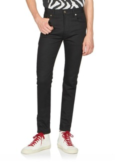 Yves Saint Laurent Skinny Stretch-Cotton Jeans