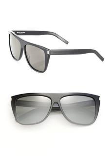 Yves Saint Laurent SL 1 Flat Top Sunglasses