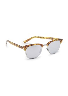 Saint Laurent SL 108 Slim Mirrored Sunglasses
