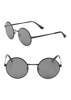 Yves Saint Laurent SL 136 Zero 52MM Round Sunglasses