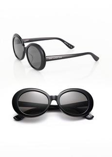 Yves Saint Laurent SL 98 California 53MM Oversized Oval Sunglasses