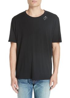 Yves Saint Laurent Saint Laurent SL Card Crewneck T-Shirt