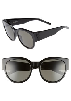 Yves Saint Laurent Saint Laurent SL M19 54mm Cat Eye Sunglasses