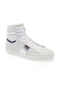 Yves Saint Laurent Saint Laurent SL/10H Court Classic High Top Sneaker (Men)