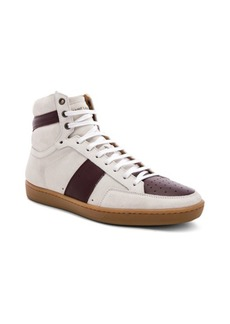 Yves Saint Laurent Saint Laurent SL/10H Hi-Top Sneakers
