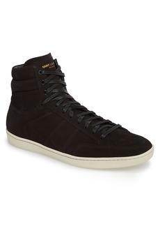 Yves Saint Laurent Saint Laurent SL/10H Signature Court Classic High-Top Sneaker (Men)
