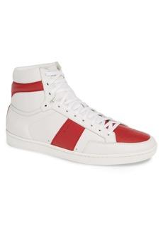 Yves Saint Laurent Saint Laurent SL/10H Signature Court Classic High Top Sneaker (Men)
