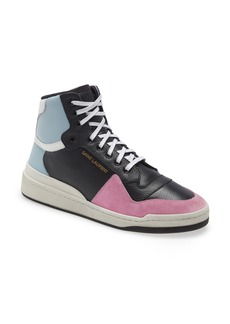 Yves Saint Laurent Saint Laurent SL24 High Top Sneaker (Men)