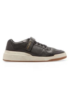 Yves Saint Laurent Saint Laurent SL24 perforated-leather low-top trainers